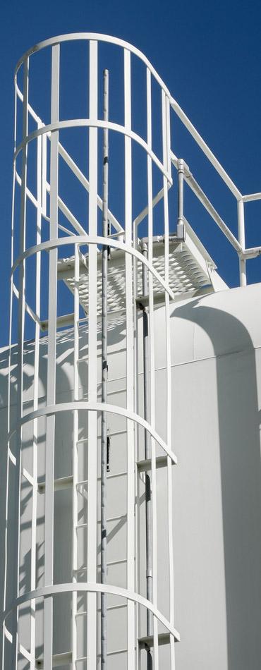 water storage tower